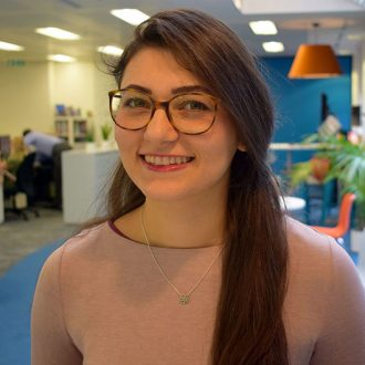 A warm welcome to Azadeh Jarfari, Assistant Surveyor