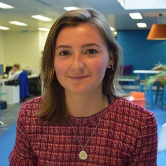 A warm welcome to Betsy Clarke, Summer Placement