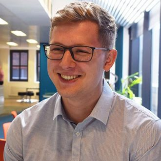A warm welcome to Hauke Kuttig, Summer Placement