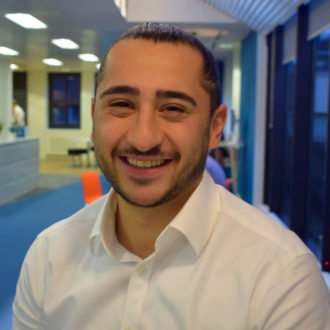 A warm welcome to Cenk Redif, Project Surveyor