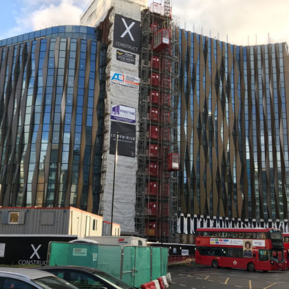 Minories hotel shows its face