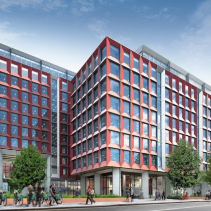 Sheppard Robson's sustainable, flexible office scheme casts Hammersmith in new light