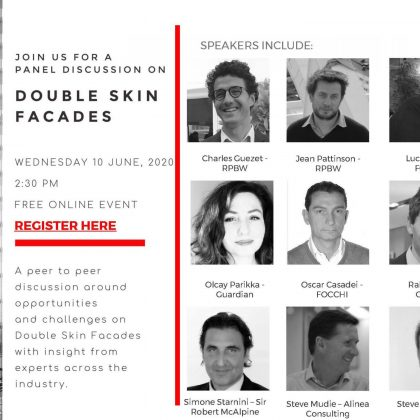 Double Skin Facade – Panel discussion – Wednesday 10th June