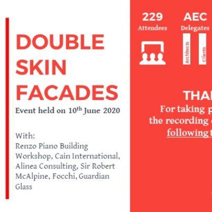 Double Skin Facade | Wednesday 10th June 2020