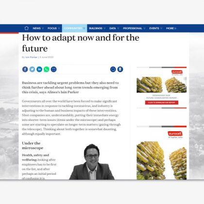 How to adapt now and for the future | Building Magazine