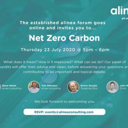 Net Zero Carbon: Thursday 23 July 2020
