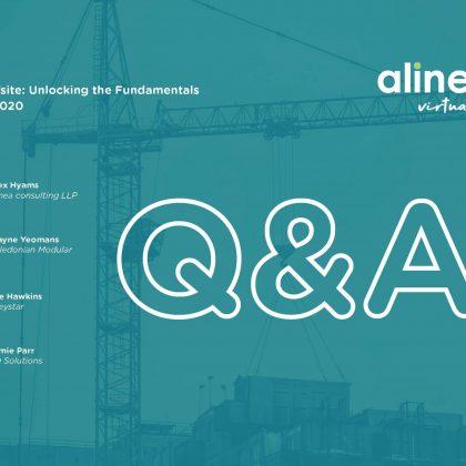 alinea virtual forum - Viable Offsite: Q&A