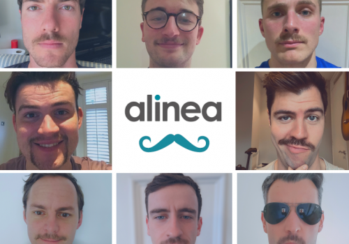 alinea Movember team 2020