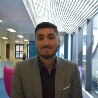 A warm welcome to Ali Matyar, Summer Placement