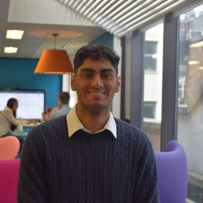 A warm welcome to Aaron Heer, Summer Placement