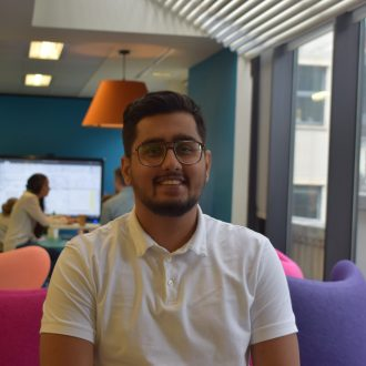 A warm welcome to Amir Singh Hazra, Summer Placement