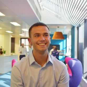 A warm welcome to Max, Assistant Surveyor