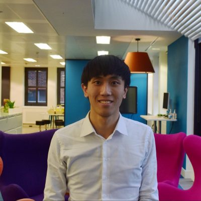 A warm welcome to Leo, Assistant Surveyor